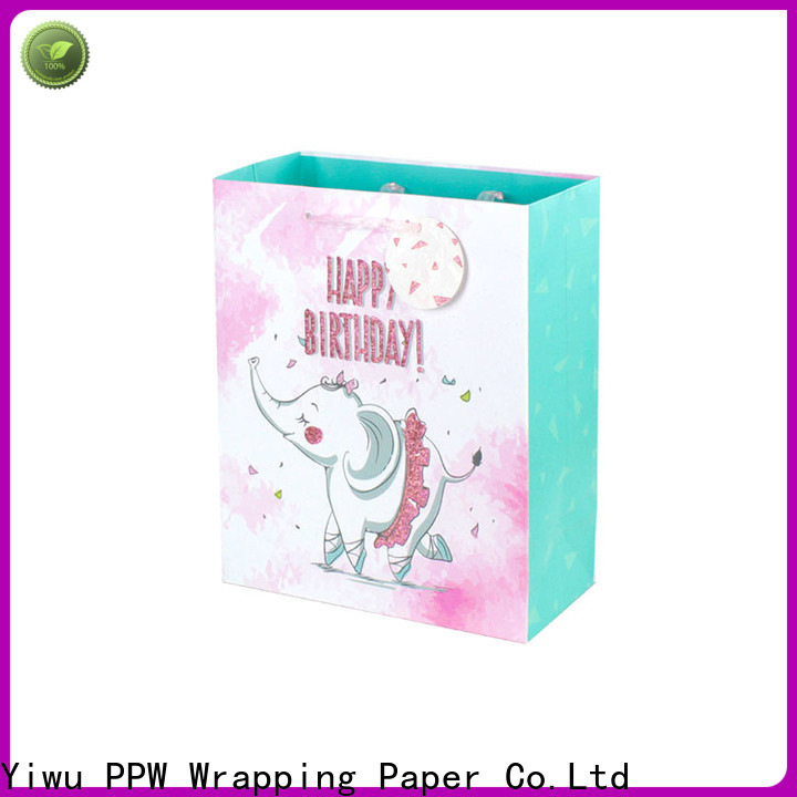 PPW professional personalised gift bags personalized