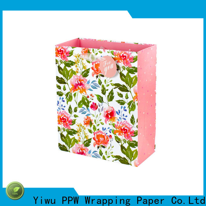 PPW hot selling custom paper bags factory price