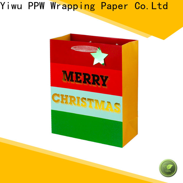 PPW christmas bags supplier for festival