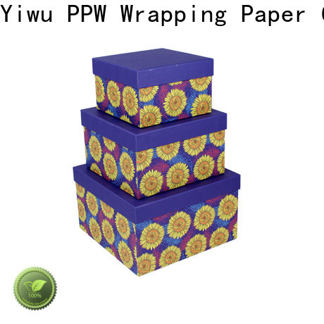 PPW box packaging manufacturer for Valentine