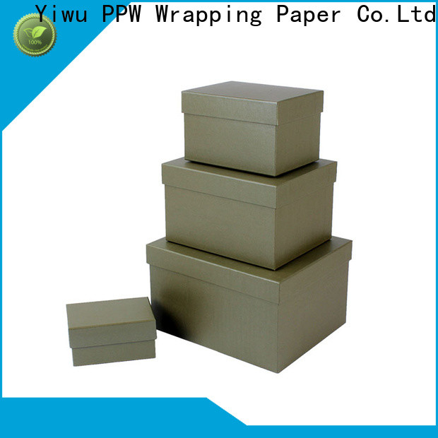 PPW birthday gift box wholesale for festival