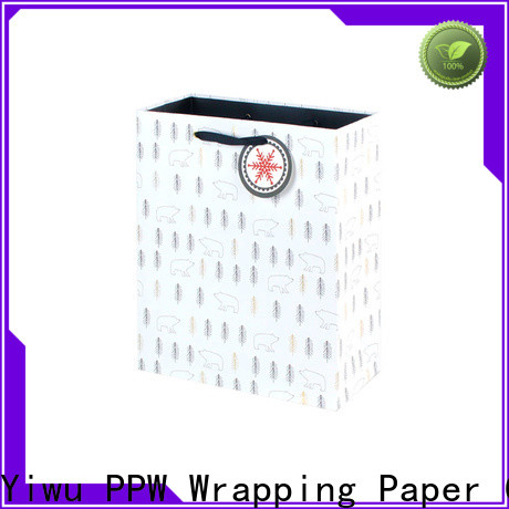 PPW paper shopping bags supplier for birthday