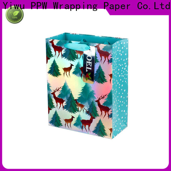 PPW hot selling christmas bags wholesale for wedding