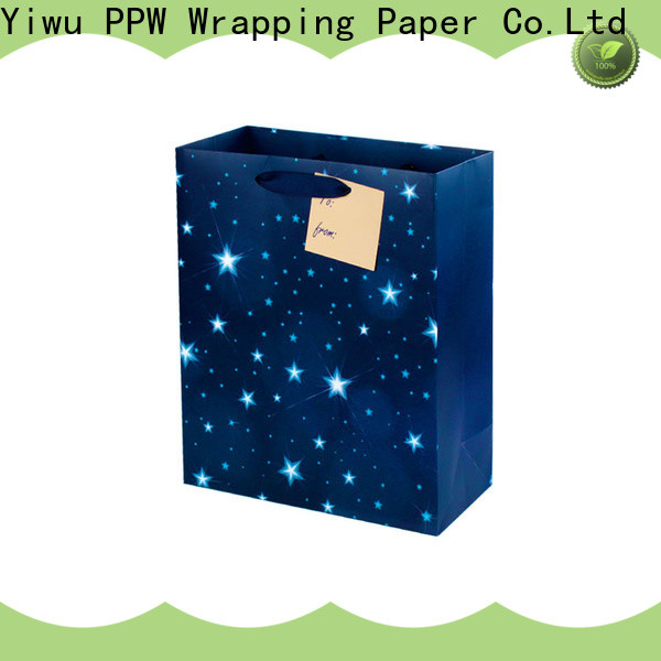 PPW popular small paper bags wholesale for wedding