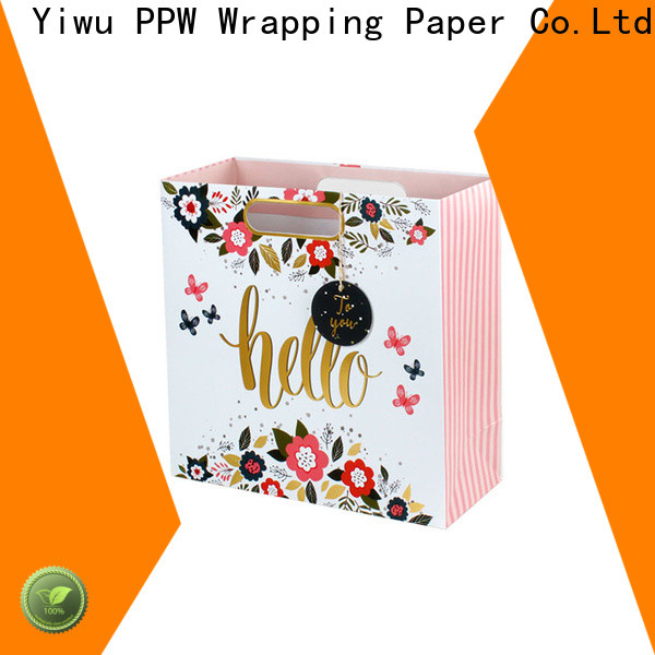 PPW custom gift bags wholesale for wedding