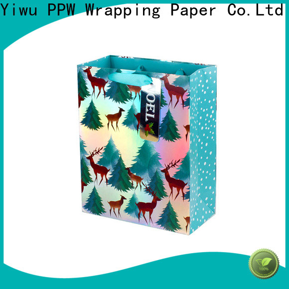 PPW popular paper bags with handles personalized for festival