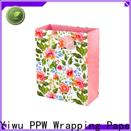 PPW small gift bags wholesale for birthday