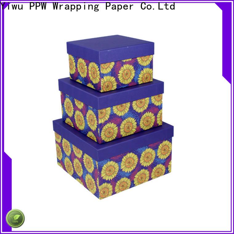 PPW custom custom packaging boxes wholesale for festival