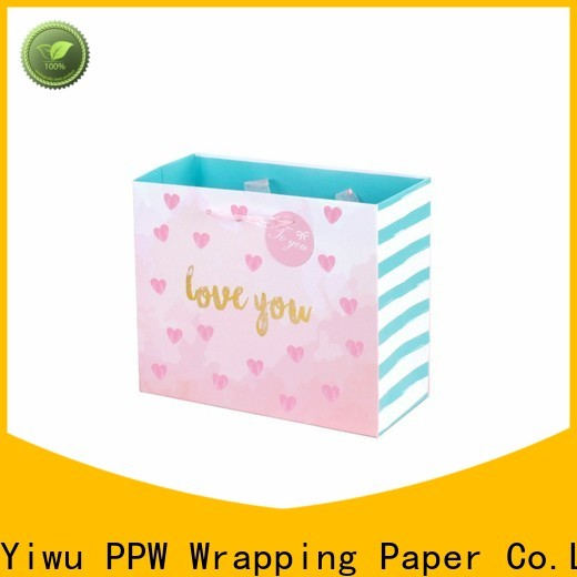 professional paper bags with handles personalized for festival