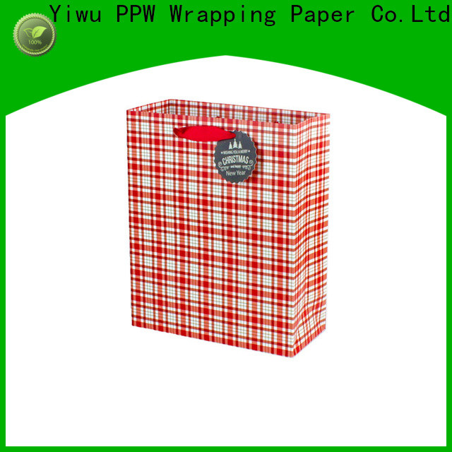 PPW professional kraft paper bags personalized