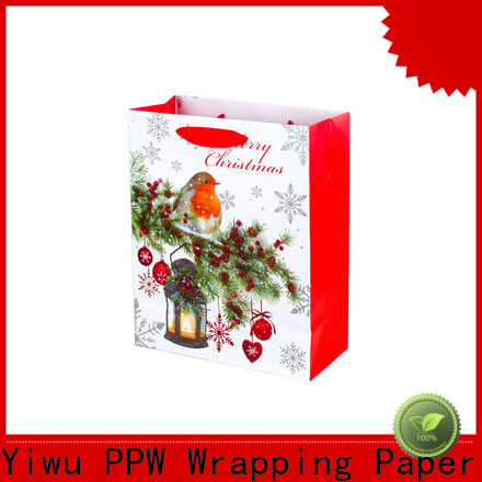 PPW custom small gift bags factory price