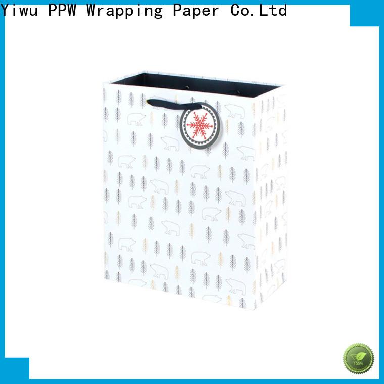 PPW popular paper bag supplier for advertising