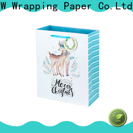 PPW hot selling paper bags with handles supplier for festival