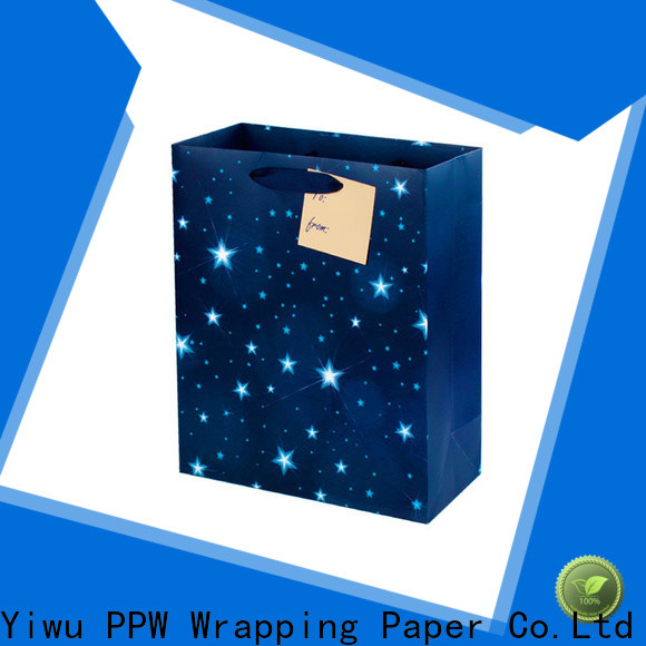PPW popular small gift bags supplier for festival