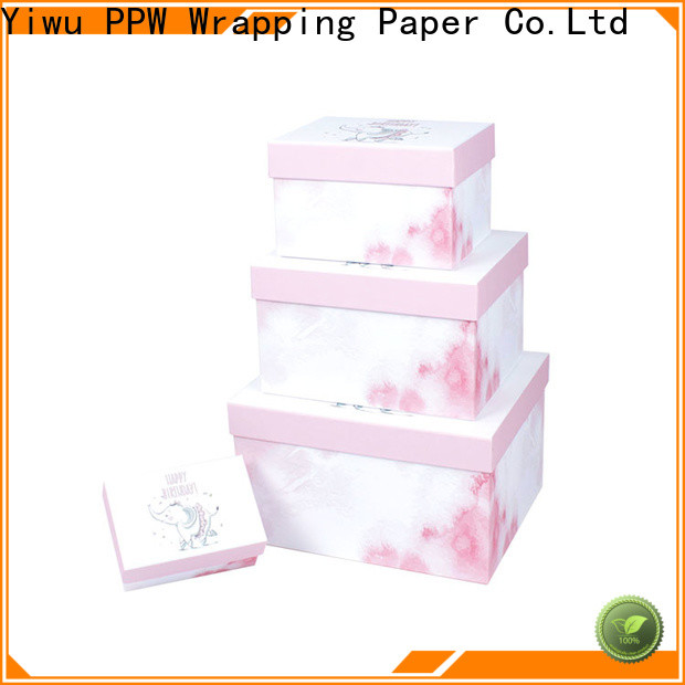 eco-friendly small cardboard boxes wholesale for festival