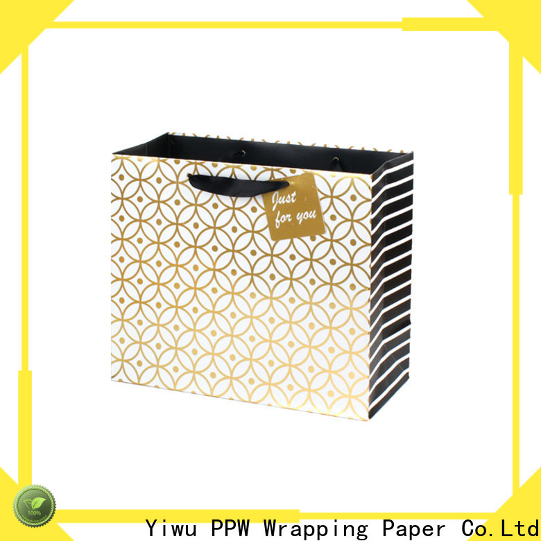 PPW quality paper party bags factory price