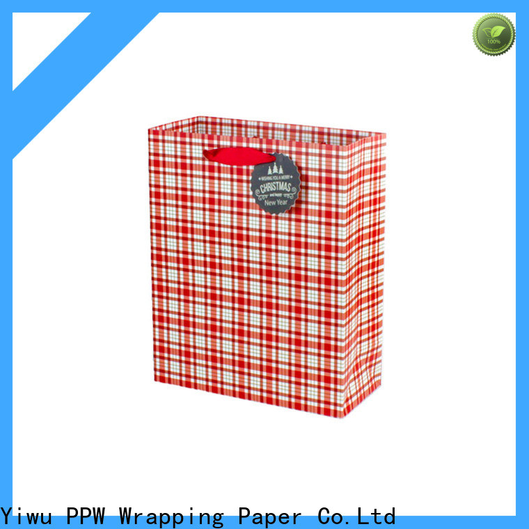PPW popular paper gift bags supplier for advertising