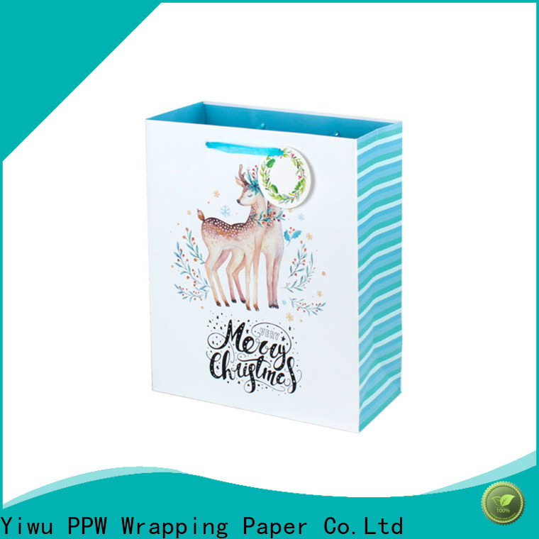 PPW popular large gift bags personalized for wedding