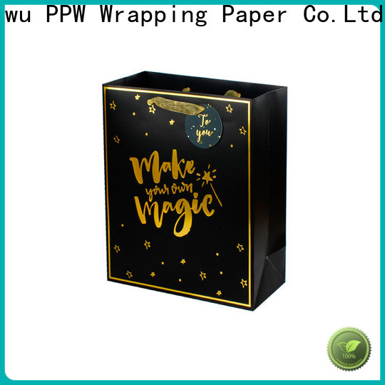 custom paper bags with handles wholesale