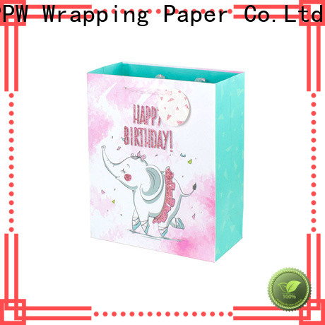 PPW professional large gift bags factory price for advertising