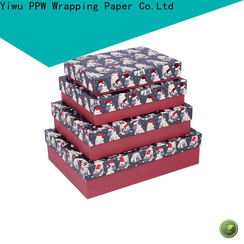 PPW custom packaging box wholesale for festival