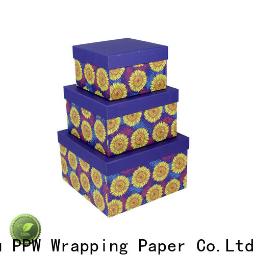 PPW gift card box wholesale for Valentine