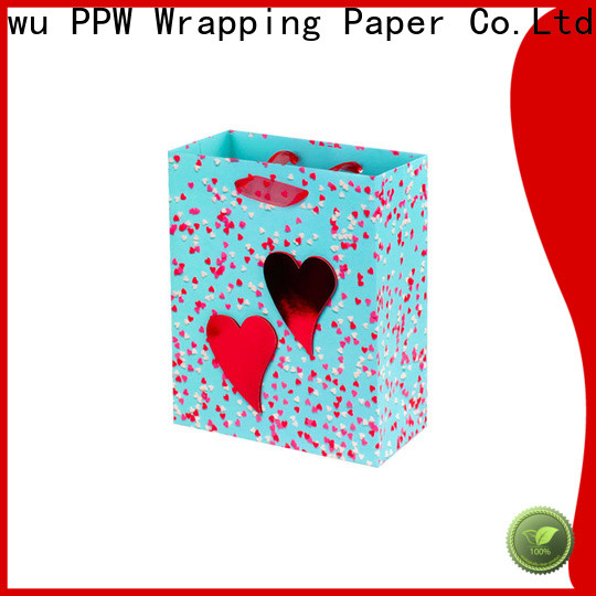 PPW popular custom paper bags factory price for festival