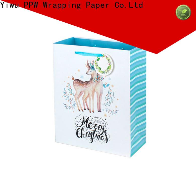 PPW custom gift bags bulk wholesale for advertising
