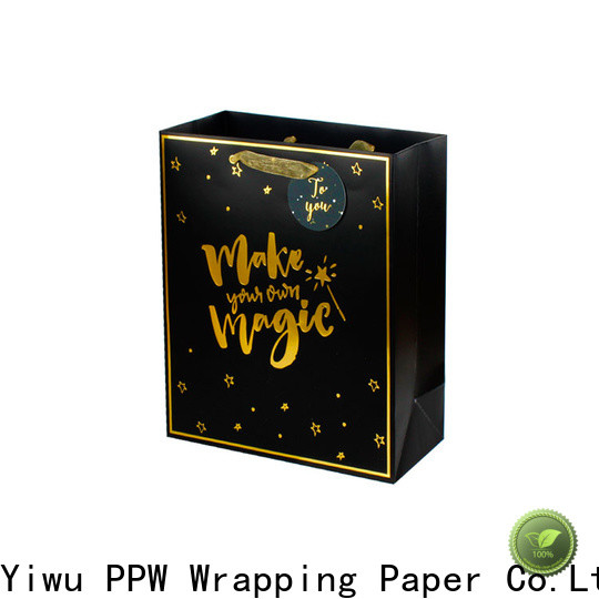 PPW hot selling gift bags bulk supplier for wedding