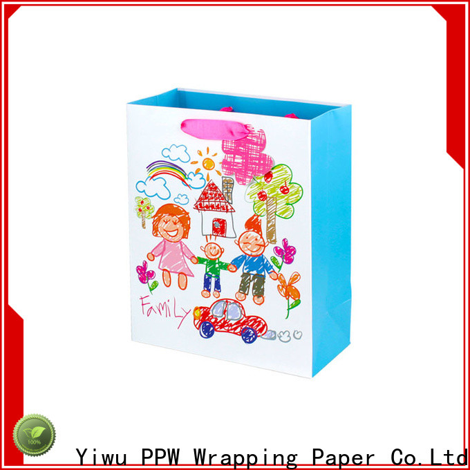 custom christmas gift bags factory price for wedding