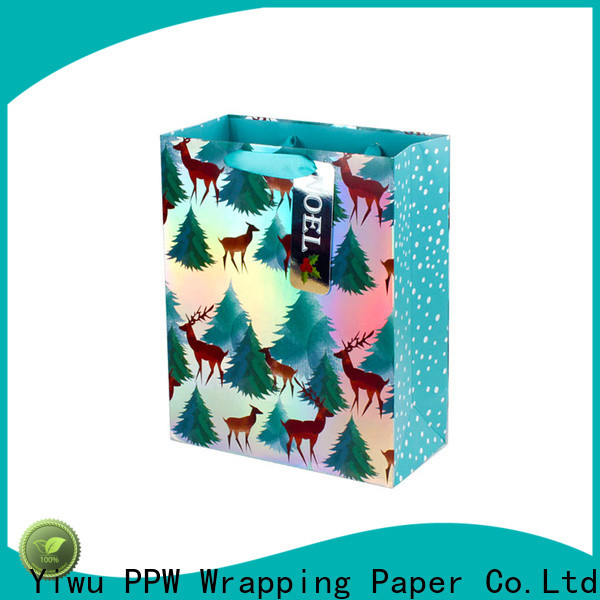 PPW professional custom paper bags wholesale