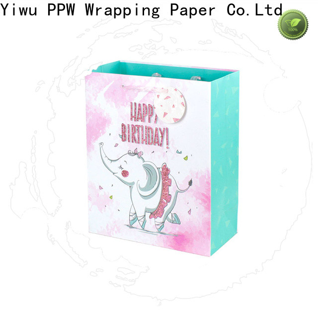 PPW professional personalised gift bags supplier for birthday