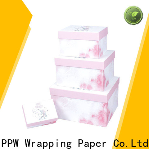 PPW custom packaging box wholesale for Christmas
