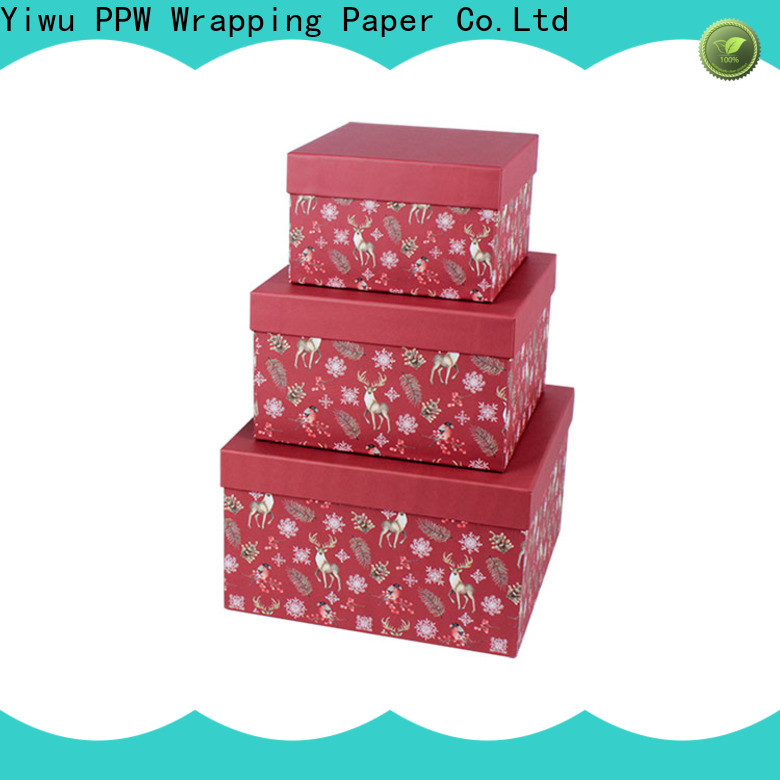 eco-friendly small cardboard boxes supplier for birthday