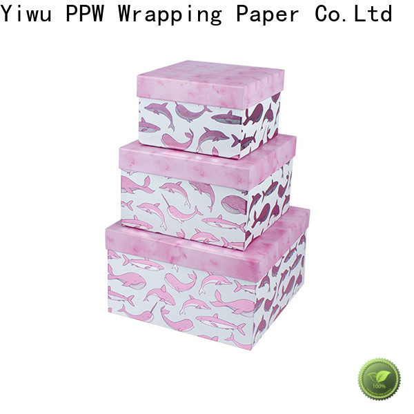 PPW cost-effective custom printed boxes manufacturer for birthday