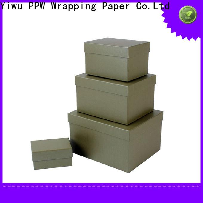 PPW custom gift boxes manufacturer for festival