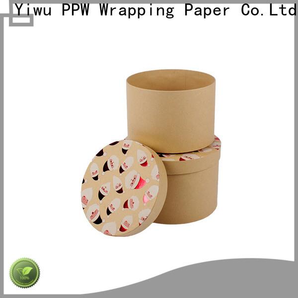 PPW eco-friendly print box wholesale for festival