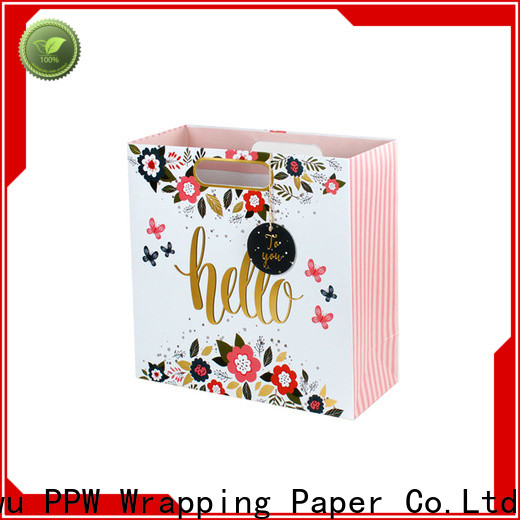 PPW professional gift bags bulk wholesale for advertising