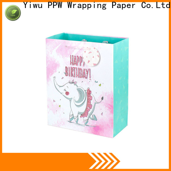 PPW paper bags with handles wholesale