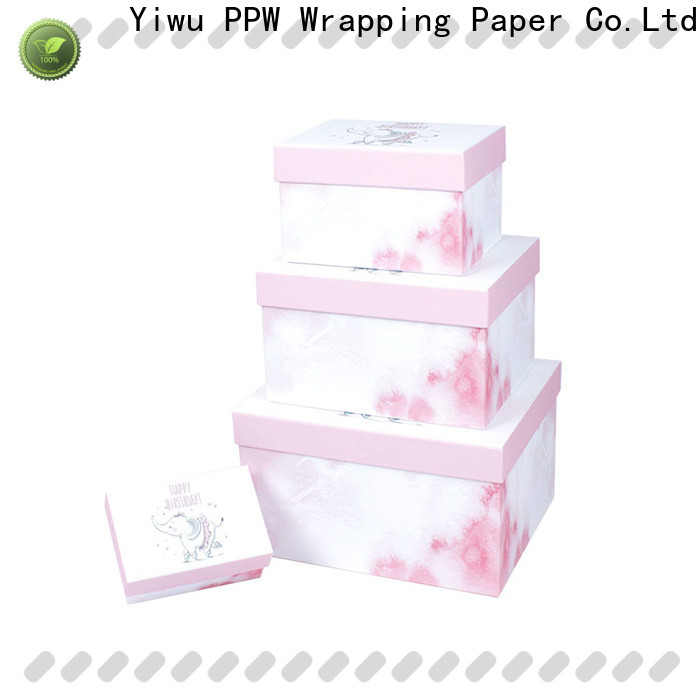 PPW cost-effective custom packaging boxes supplier for Christmas