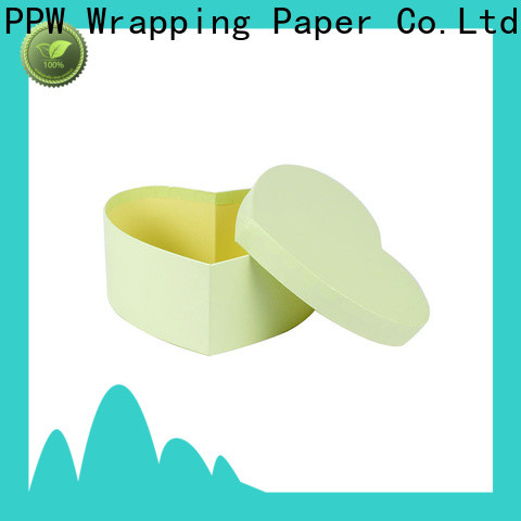 PPW round box wholesale for Christmas