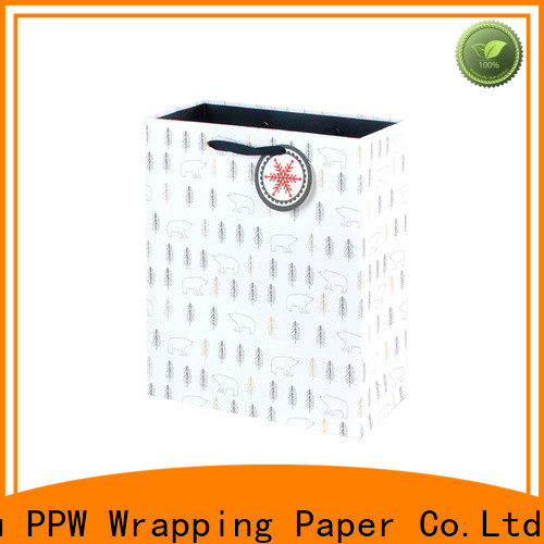 PPW custom small gift bags supplier