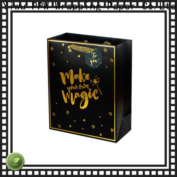 PPW professional custom gift bags supplier for festival
