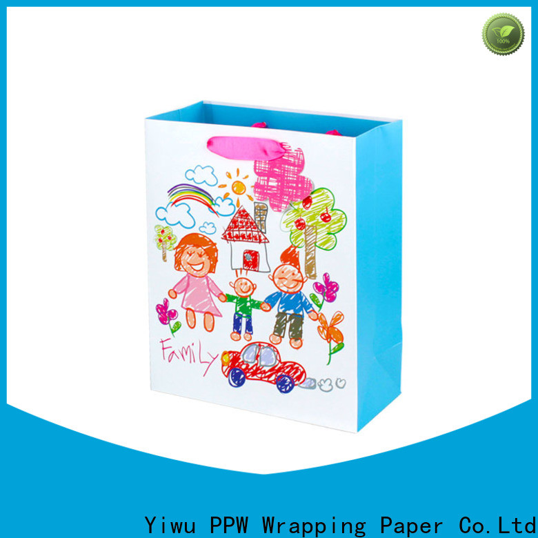 PPW large gift bags supplier for advertising