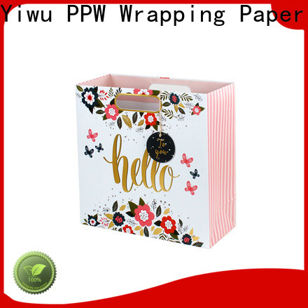 custom kraft bags factory price for wedding