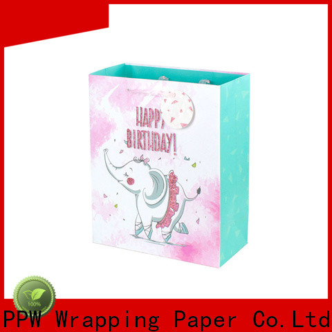 PPW professional kraft bags wholesale for advertising
