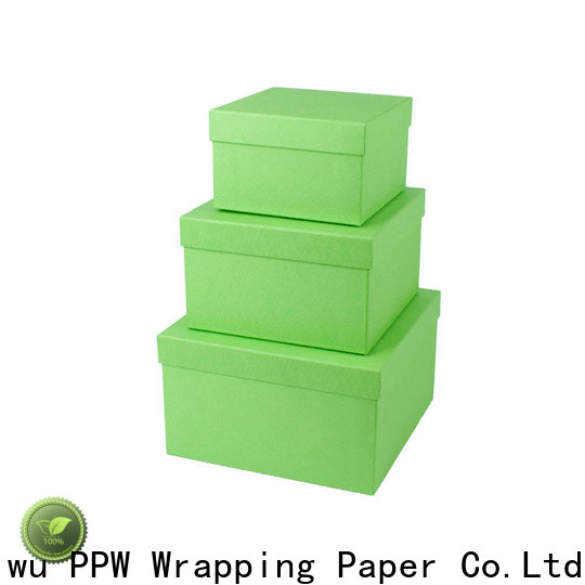 PPW cosmetic box manufacturer for Christmas