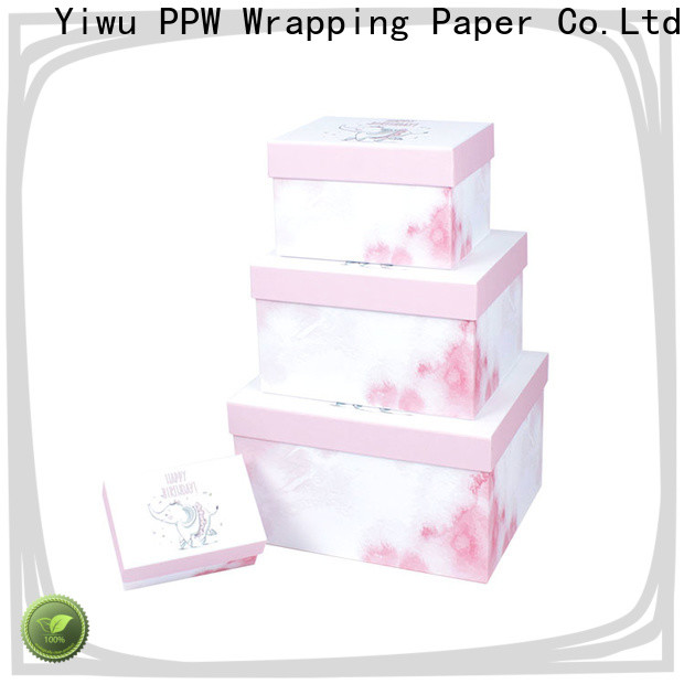 PPW gift card box supplier for Valentine