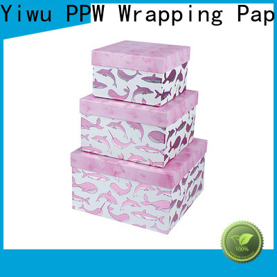 PPW custom printed boxes wholesale for festival