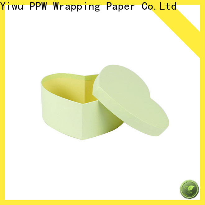 PPW gift card box manufacturer for birthday